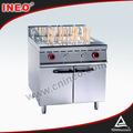 Restaurante comercial de gás glp fogão massas/fogão elétrico massas/industrial panela de macarrão