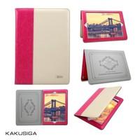 Kakusiga fashional pattern bluetooth keyboard case for ipad mini case