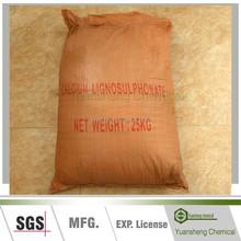 Calcium Lignosulfonate as powder tile adhesive
