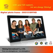 21.5 pulgadas cabina de fotos digitales de la máquina expendedora de ventas