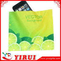 YB104 microfiber cleaning cloth in roll