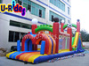2014 20m long inflatable playground/ Inflatable obstacle course for adult