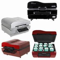 Christmas On Sale Mug Phone Case Plate Sublimation 3D Vacuum Heat Press Printing Machine