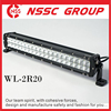 Premium Quality 20 In Black Color Dual Rows LED Vehicle led light Bars Chinese OEM Factory ISO9001 & 14001 Passed