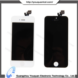 Phone accessory for iphone 5 lcd display, touch screen digitizer for iphone 5