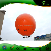 6m Long Advertising Inflatable RC Helium Airship Inflatable Blimp Helium Airship For Sale
