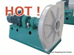 forper/hualuo stainless steel blade ventilation fan for cement kiln