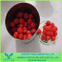 Canned Cherry in Syrup with E127 Colorant