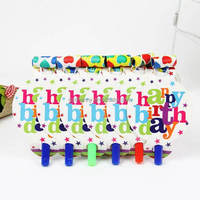 84Pcs Luxury Colorful Kids Birthday Party Decoration Set Baby Shower Pack Carnival Theme Party Supplies