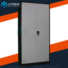 Light Grey Steel Office Furniture KD Metal filing Cabinets Cheap kitchen cupboard Double Door steel cupboard