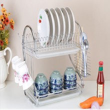 Supermarket Promotion Kitchen Stainless Steel Dish Drying Rack