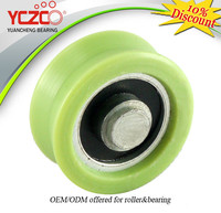 Precision Nylon Pulley Wheel with V groove Guiding Pulley for Rail Sliding window