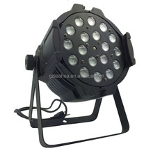 cheap disco lights 18pcs 10w Quad led par zoom , RGBW 4in1 LED par zoom . zoom par