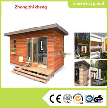 High quality Easy wooden prefab for garden