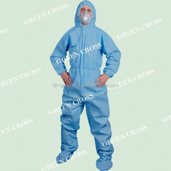 MERS, CE Exam Type 5/6 Protective SMS CrossGard 2000 Coverall offers wearers protection from liquid chemicals to EN Type 5 & 6.