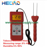Automatic temperature Compensation Cotton Tobacco Paper Digital Wood Moisture Meter Tester