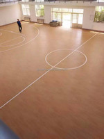 safety and comfortable plastic basketball sports floor,multi-use pvc sports floor