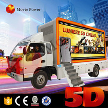 Indoor playground business plan 5d 7d mobile truck cinema movis simulator for sale