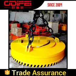 Mechanical Lifting Devices 2 Ton Lifting Magnet