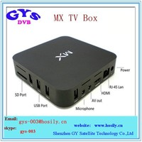 Dual Core 8GB Flash MX 2 Internet Smart TV Box MX a9 Android 4.2 IPTV set top box for global use