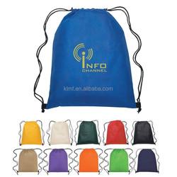 2015 factory fold up polyester drawstring bag