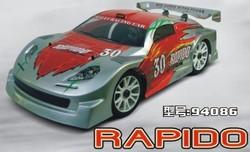 2.4G radio controlled car 1/8 Nitro