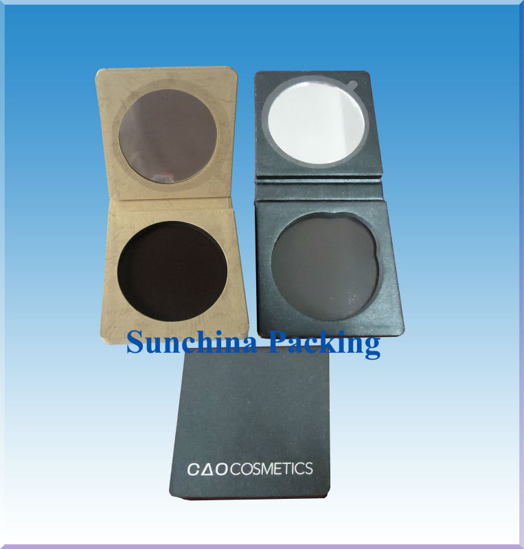 Paper Face Powder Box for Cosmetic Packing