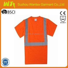 wholesale alibaba Safety shirt 100 % polyester short sleeves work safety shirts