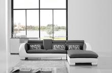 Luxury sitting room furniture leather sofa furniture corner 110B