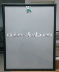 golden&black aluminum high quality powder coated snap frames a1 size black poster frame