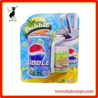 2014 Coca bottle soap bubble blowing toys
