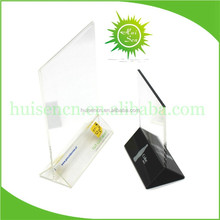 Hot Sell Table Top Acrylic Menu Holder, Acrylic Menu Stand, Acrylic Menu Display