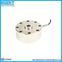 Ligent pancake weighing scale force sensor 0.5t to 50t