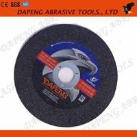 Yuri quality 4 INCH Multi specifications resion bond abrasive cutting disc/cutting wheel