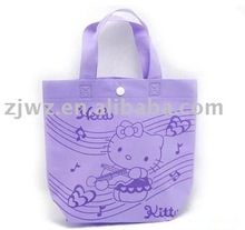 lovely nonwoven tote bag