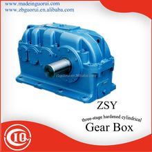 Zibo Boshan GVORVI ZDY, ZLY, ZSY, ZFY hard-toothed surface series 1, 2, 3, 4 stages reversing gear box/reducer/gearbox
