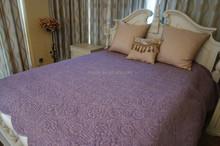 Purple Lace Quilt. Home Garden Bedspread
