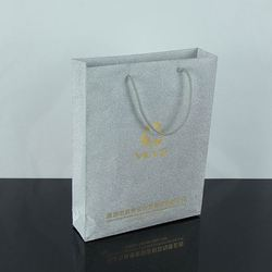 2015 custom 3d Paper Bag Die Cut Plastic Bag