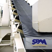 High efficency good quality long distance rubber belt mobile conveyor price for Africa market