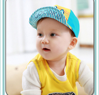 2015 Spring Summer Fashion Baby Casquette Polo Crown & HAPPY Style Snap back Hip Hop Baseball Cap For Kid Boy Girl Sun Hat