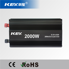 Aerospace-grade silence technology intelligent dc/ac power inverter 2000w dc 12v ac 220v with CE ROHS KEX-32000