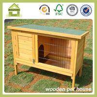 SDR10 Single Fir Wood Rabbit Penthouse Hutch