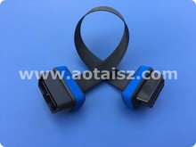 shenzhen obd factory blue pvc flat cables gps gprs gpm car tracker