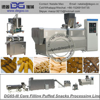 hot sale small snack food machine/extruder for corn sticks/rice crispy making machine