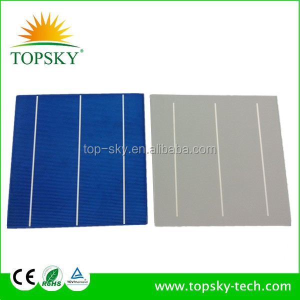 TP-156P Hottest sell 6''x6'' multi-crystalline solar cell supplier high efficiency polycrystalline silicon solar cell price