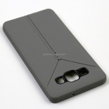 china alibaba zipper clothes silicone soft smartphone bumper case for SAM galaxy a8 a8000