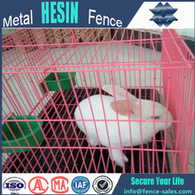 factory direct supply New Folded Wire Mesh Easy Cleaning Rabbit Cages for wholesale