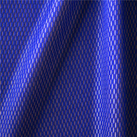Shiny blue polyester mesh fabric for sportswear