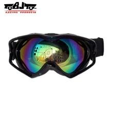 BJ-MG-003A Wholesale Best Selling Adult Blue Color Reflective Lens Glasses Scooter Racing Dirt Bike Oakleys Ski Goggles