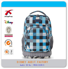 fashion student high school bag backpack with trolley